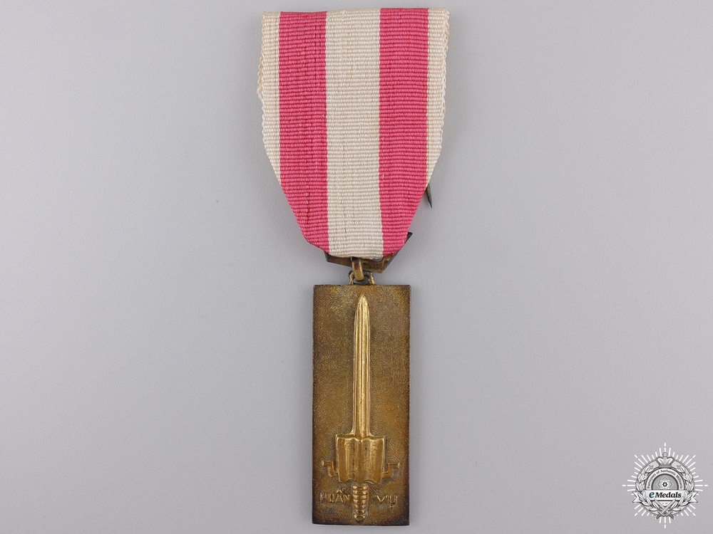 A Vietnamese Training Service Medal; 2nd Class for NCOs and Enlisted Men