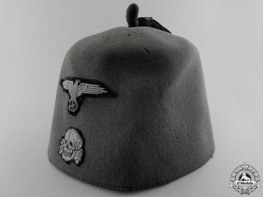 A Waffen SS Field Combat Fez