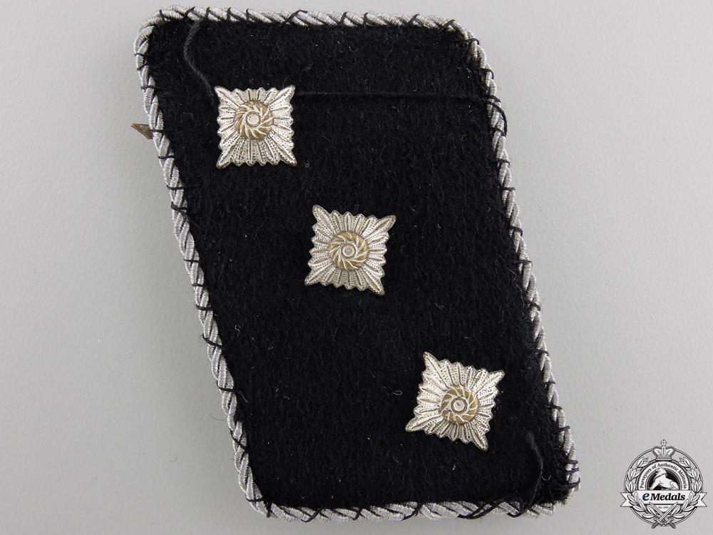 A Waffen-SS Untersturmführer Collar Rank Tab