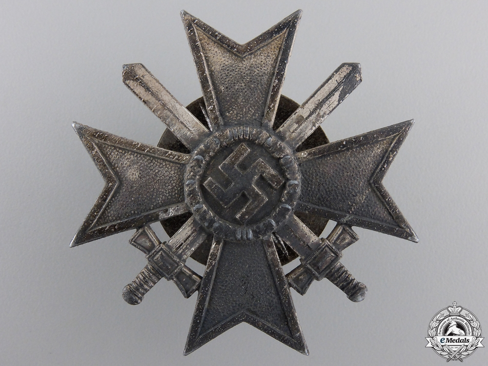 A War Merit Cross 1st Class with Swords by C. F. Zimmermann