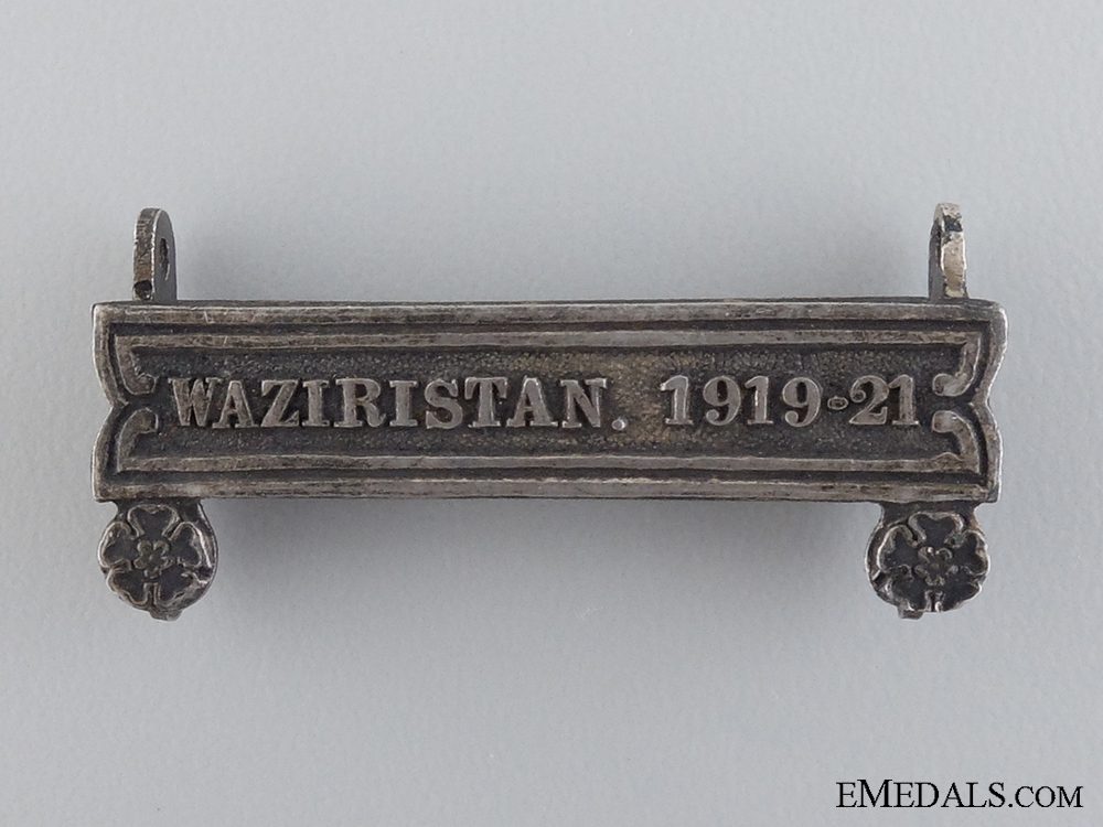 A Waziristan 1919-21 Clasp for the India General Service Medal