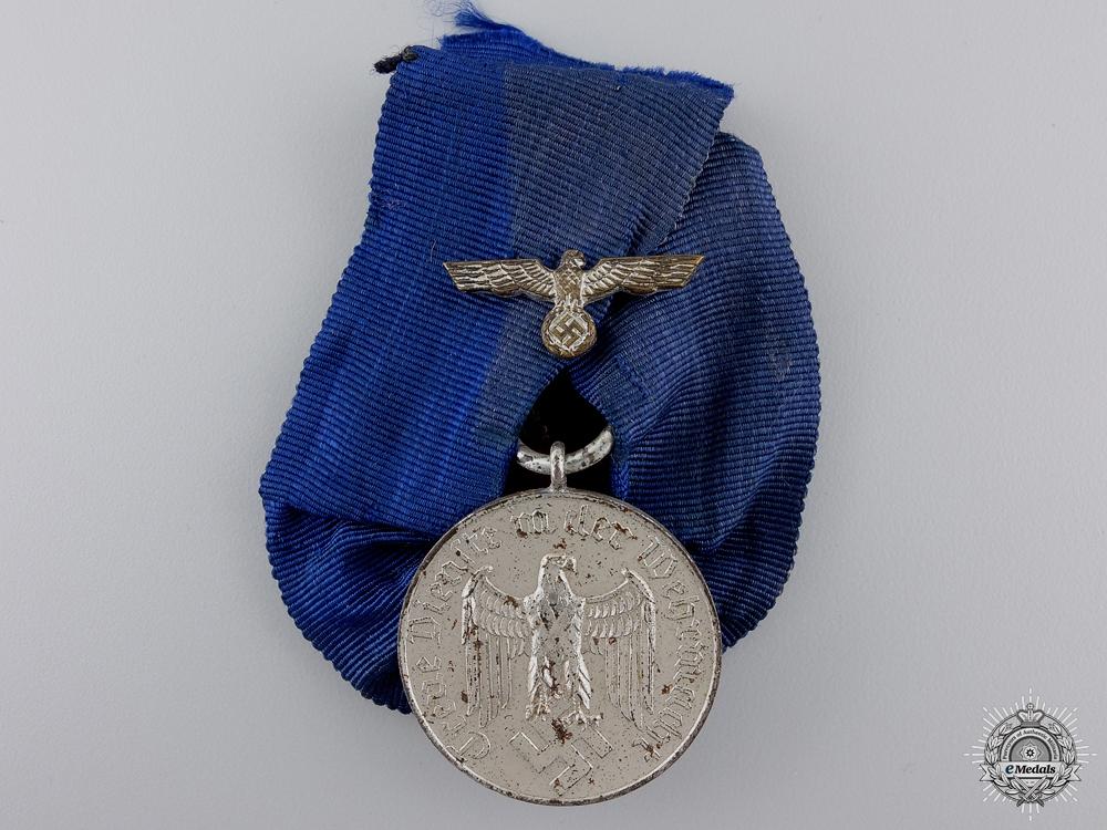 A Wehrmacht Long Service Award; 4th Class