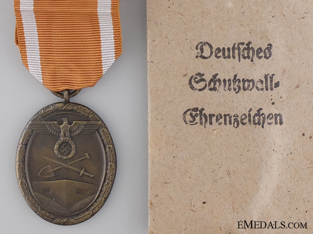 A West Wall Campaign Medal by Carl Poellath