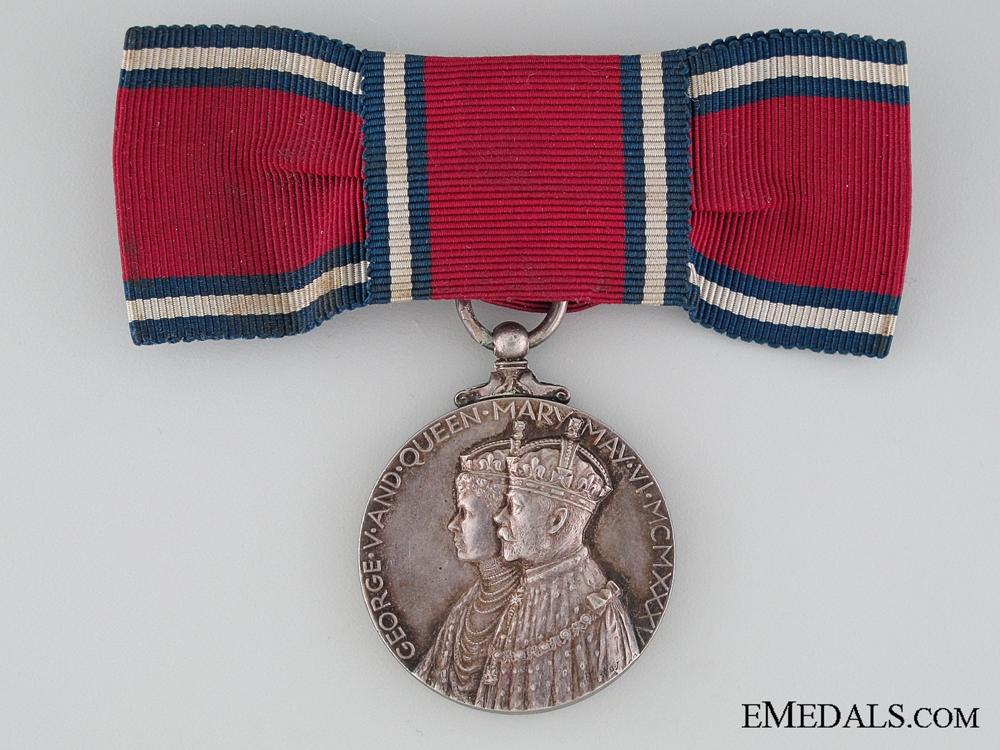 A Woman's 1935 Jubilee Medal