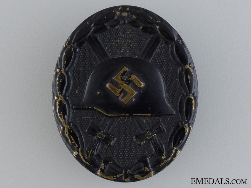 A Wound Badge; Black Grade by Foerster & Barth