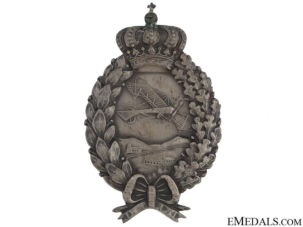 A WWI Bavarian Pilot's Badge