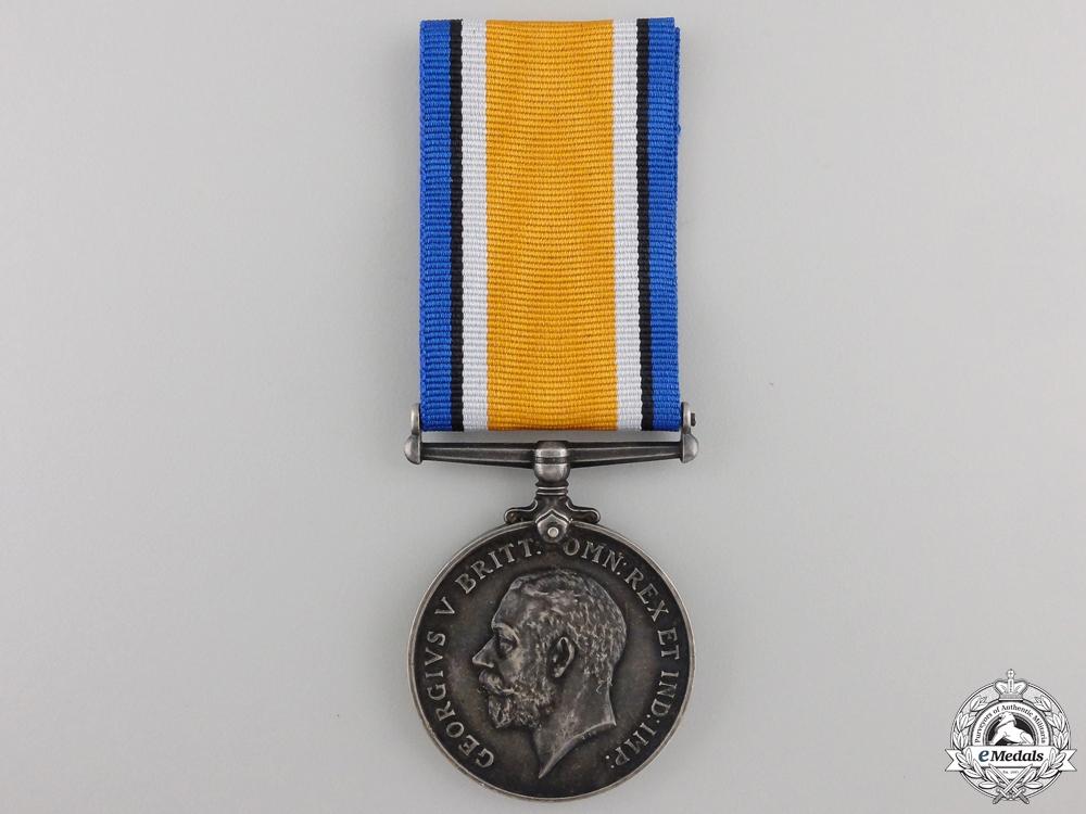 A WWI British War Medal to the Nova Scotia Regiment