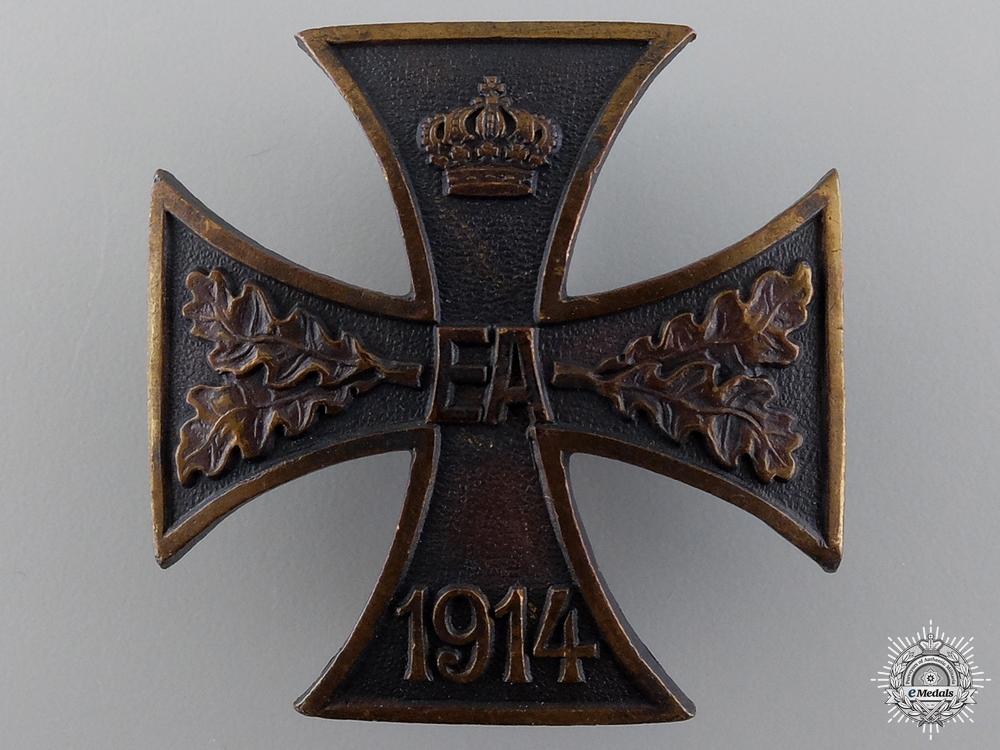 A WWI Brunswick-Ernst-August Cross; First Class