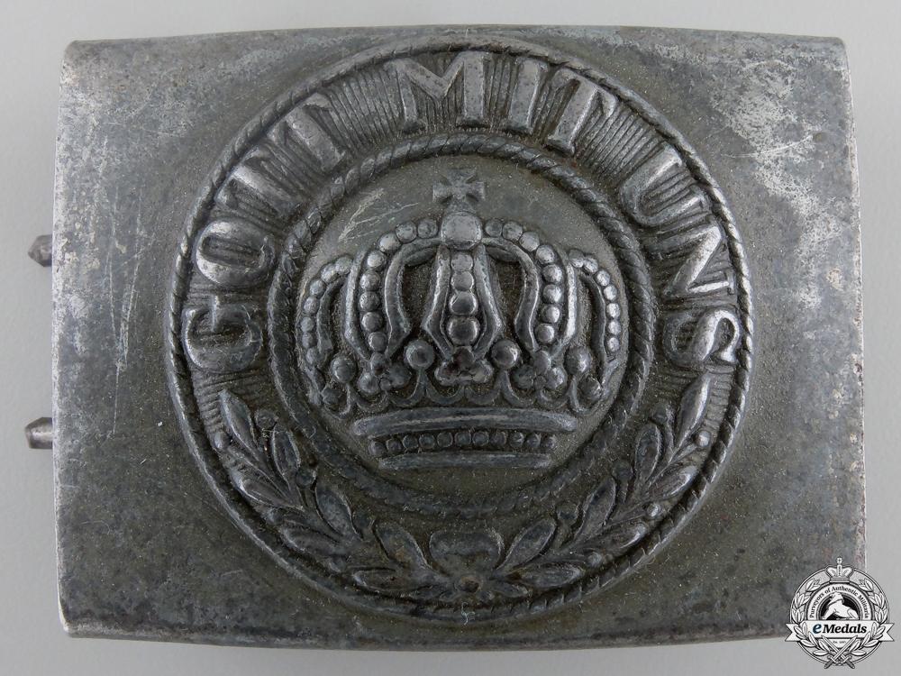 A WWI German Imperial EM/NCO's Belt Buckle