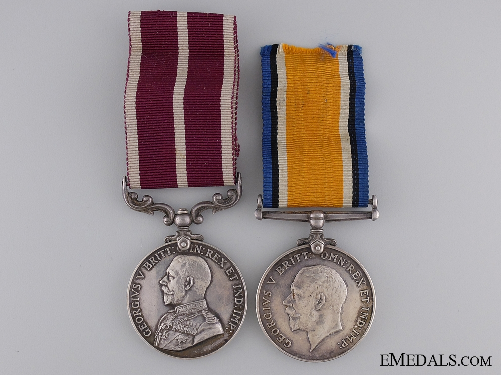 A WWI Meritorious Service Medal Pair to the Royal Engineers