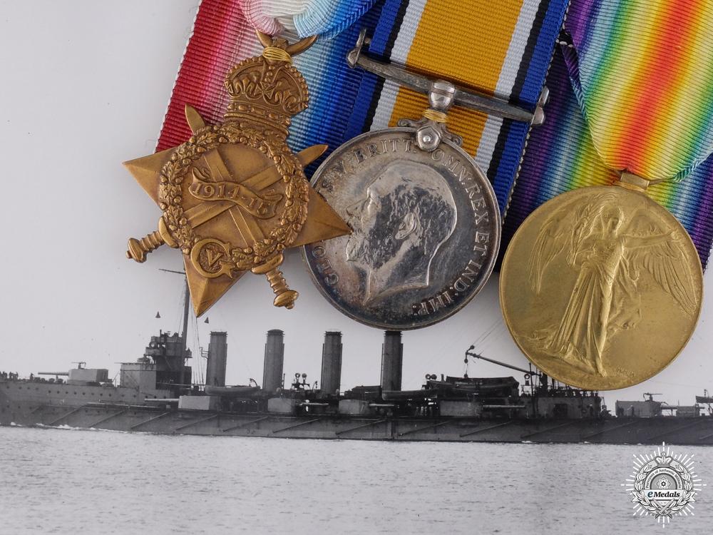 A WWI Naval Group to Warrant Mechanic Frederick W. Kemp