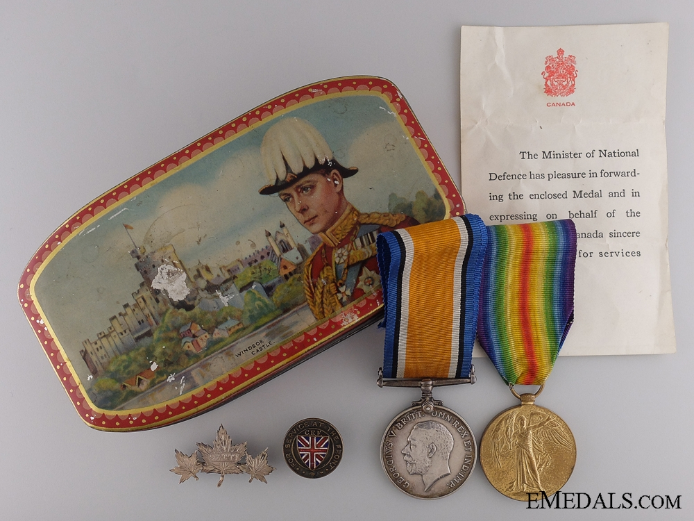 A WWI Pair to the Princess Patricia's Canadian Light Infantry