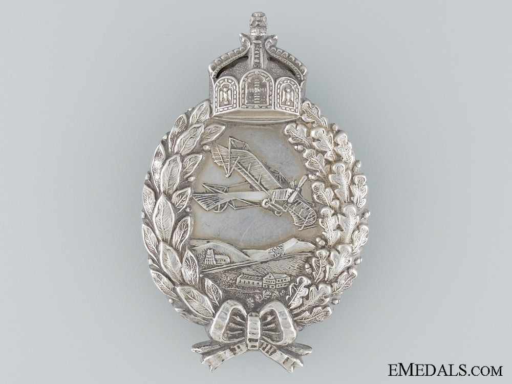 A WWI Prussian Pilot`s Badge by C.E. Juncker Berlin