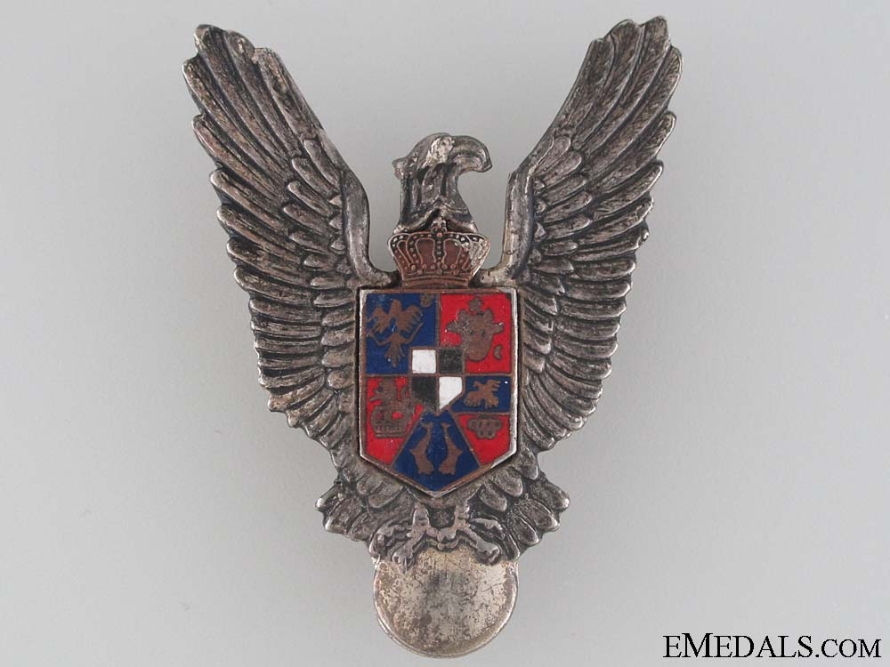 A WWII Romanian Pilot's Badge
