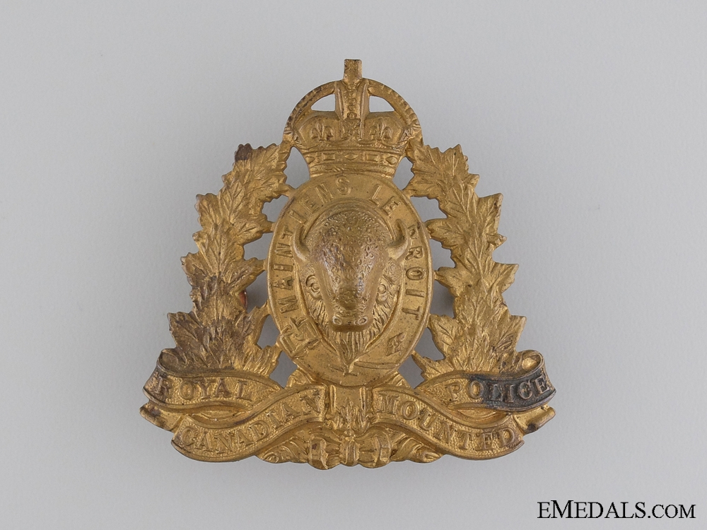 A WWII Royal Canadian Mounted Police Badge