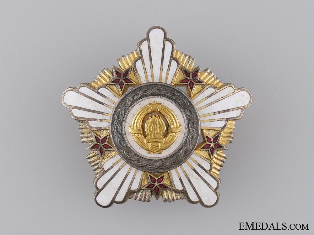 A Yugoslavian Order of the Republic 1961-1991