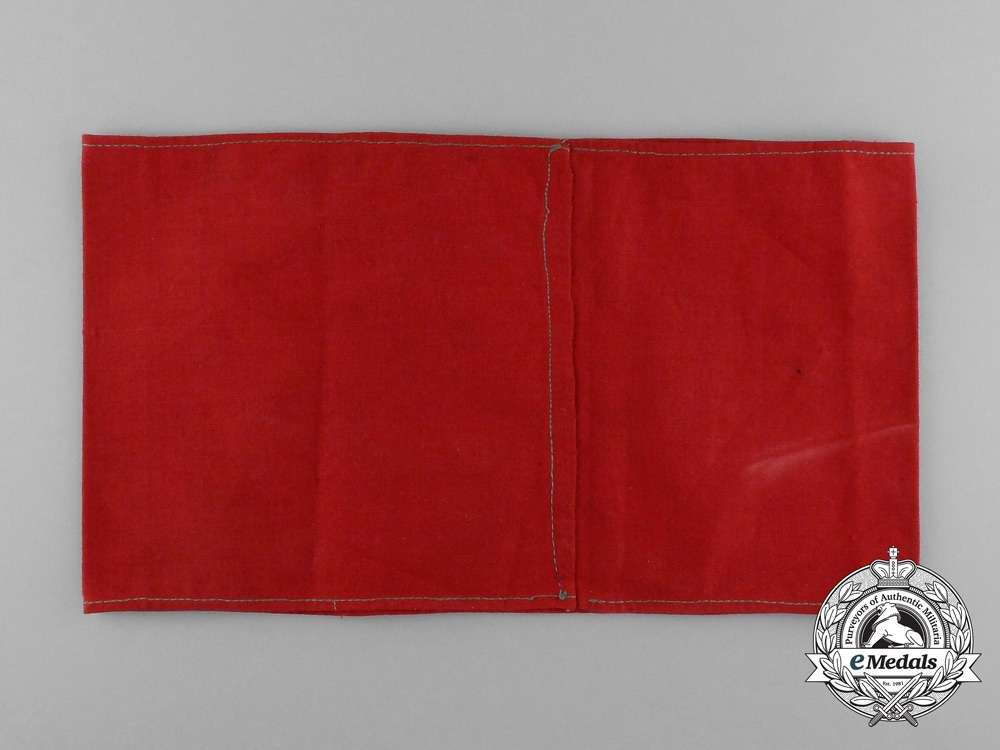 A NSRL (National Socialist League of the Reich for Physical Exercise) Sports Leader Armband