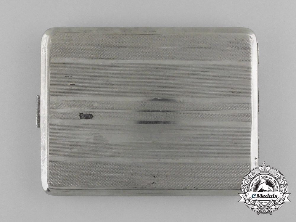 A Cigarette Case of the SS-Division (mot.) Wiking Member