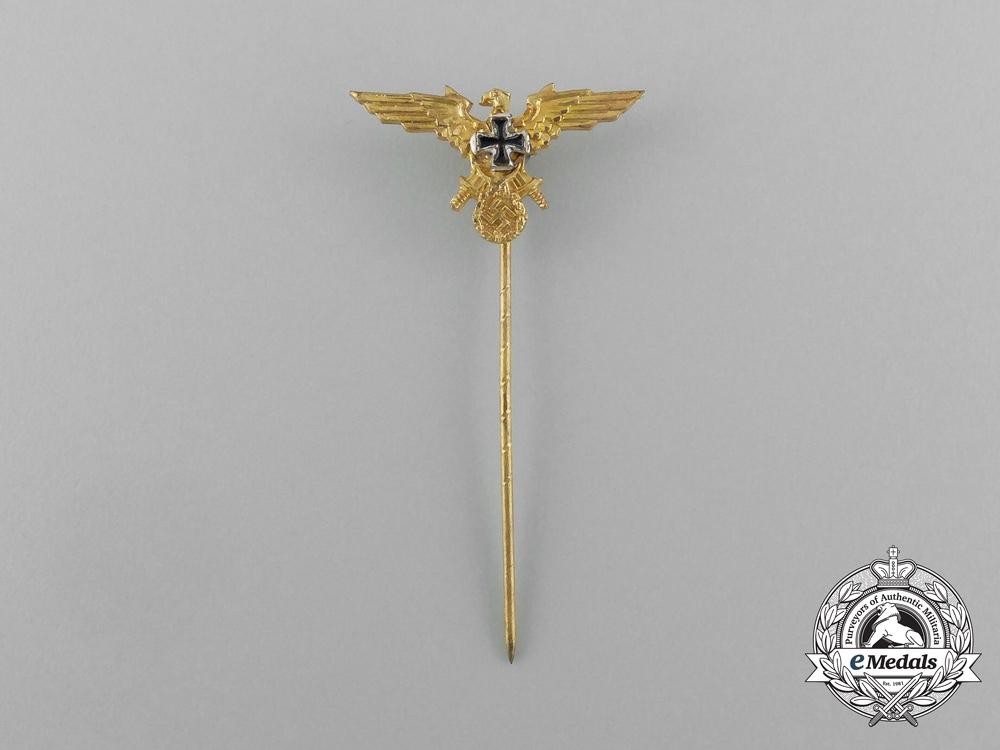 A Second War German Veteran's Society Membership Stick Pin