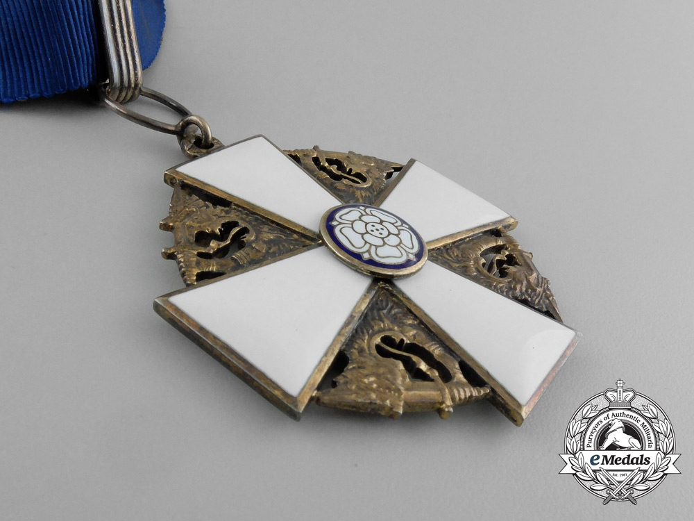 A Finish Order of the White Rose; 1st Class Commander