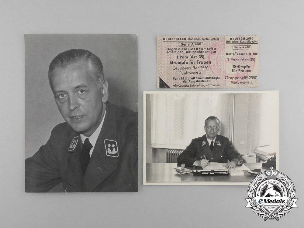 A 1938 Czechoslovakian Passport with German Customs Service Photos