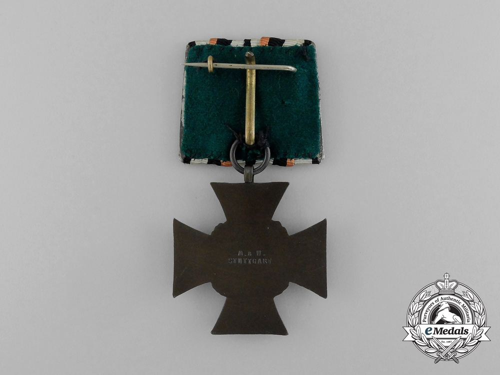 A German-Style Parade Mounted Honour Cross of the World War 1914/1918