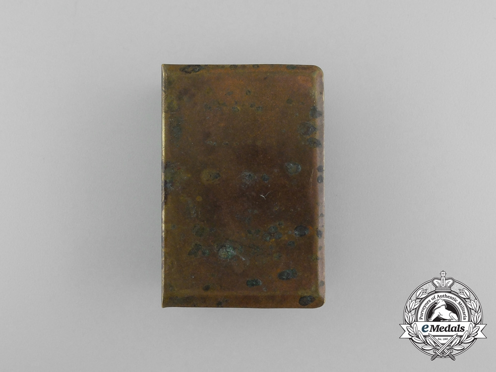 """A German First War """"Reims"""" Matchbox Cover"""