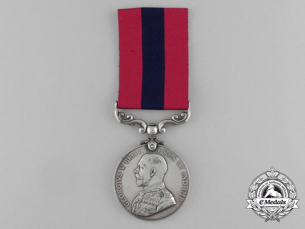 A GV Distinguished Conduct Medal as Issued to Foreigners