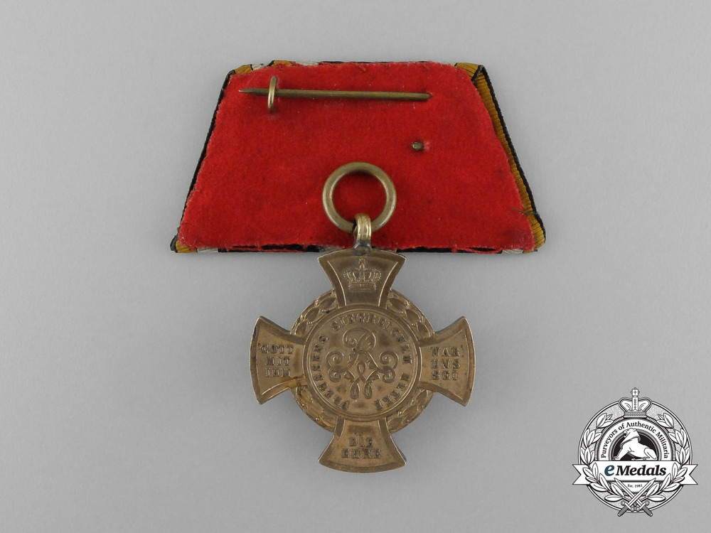 A Parade Mounted Prussian Cross for the 1866 Campaign