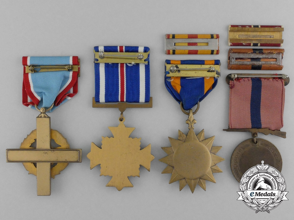 Four American Air Force/Marine Corps Four Awards