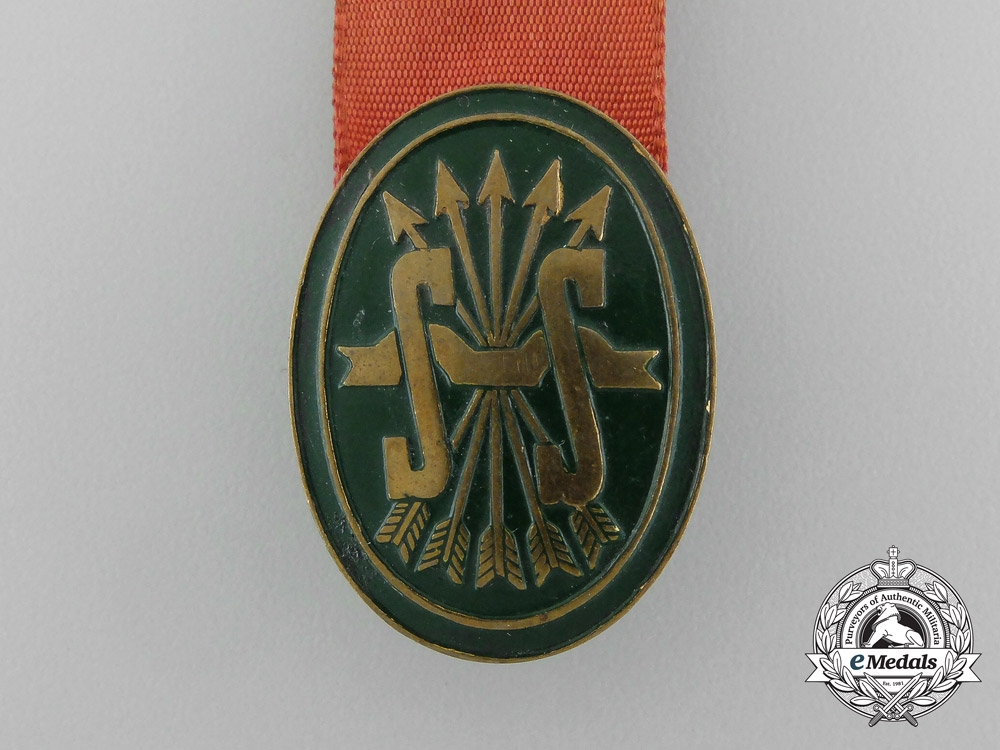 A Social Services of the Spanish Falange Badge