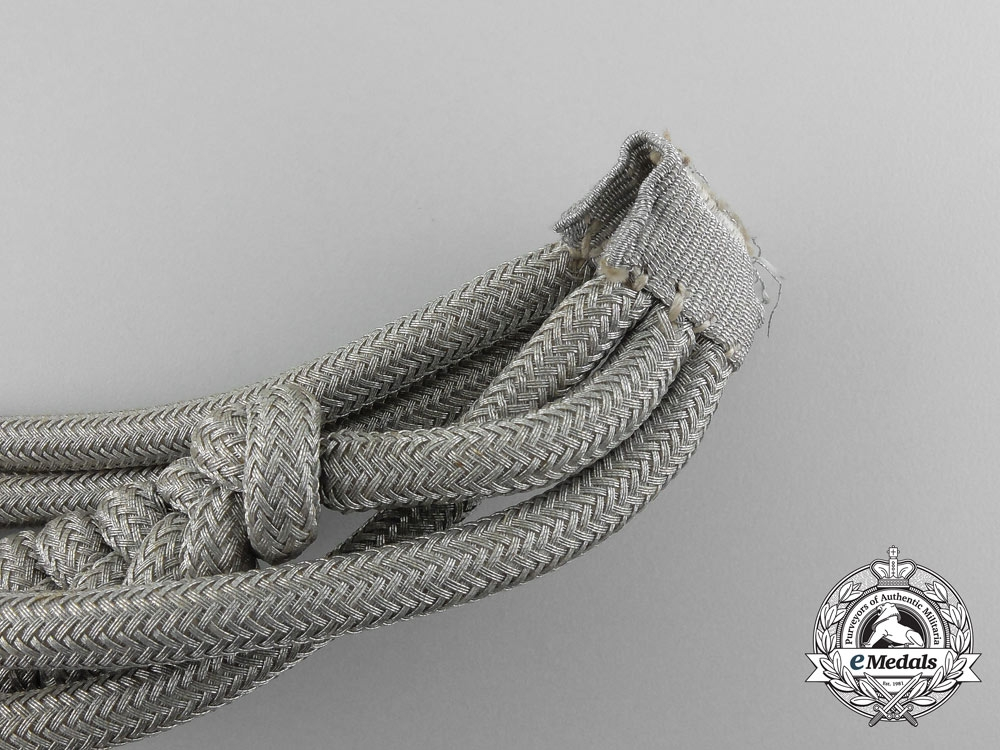 A Mint Wehrmacht Heer (Army) Officer's Aiguillette