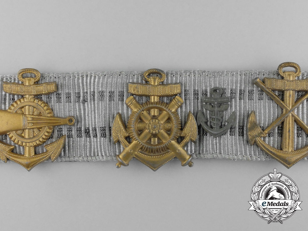 Germany, Kriegsmarine. An Administrative Official's Veteran Trophy Belt with Buckle
