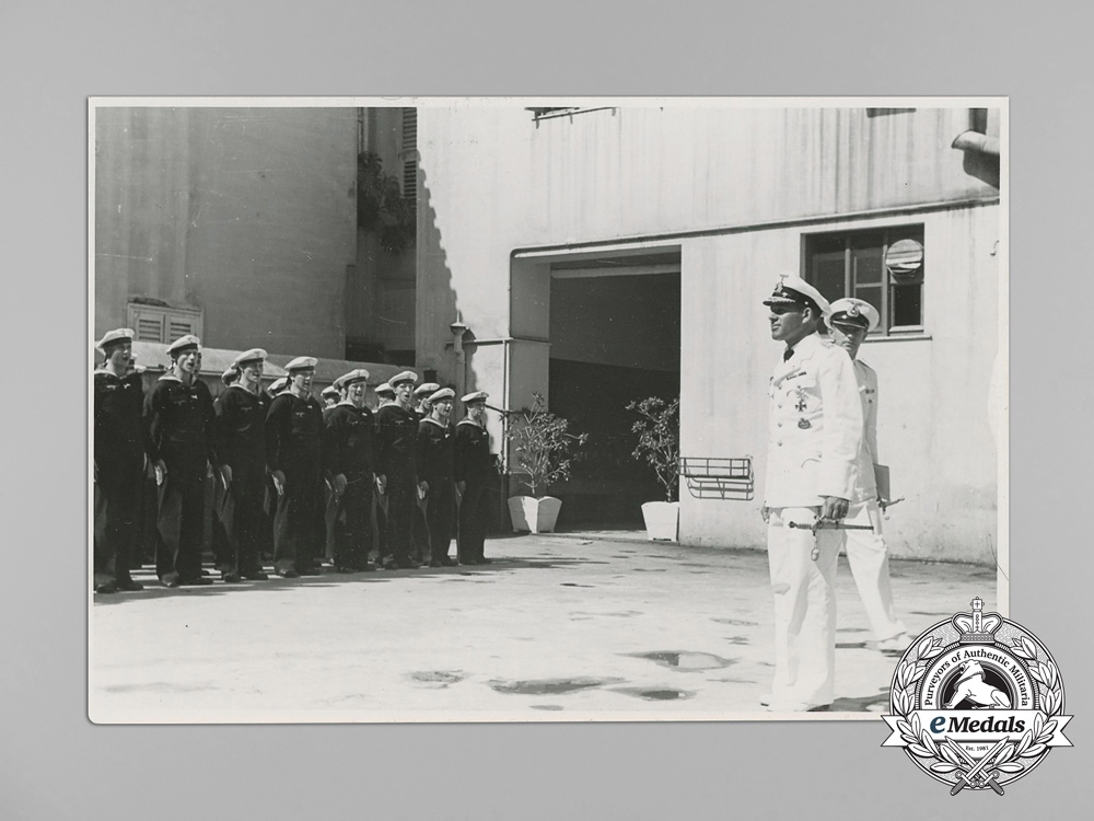 13 Private Wartime Photographs of Admiral Erich Förste
