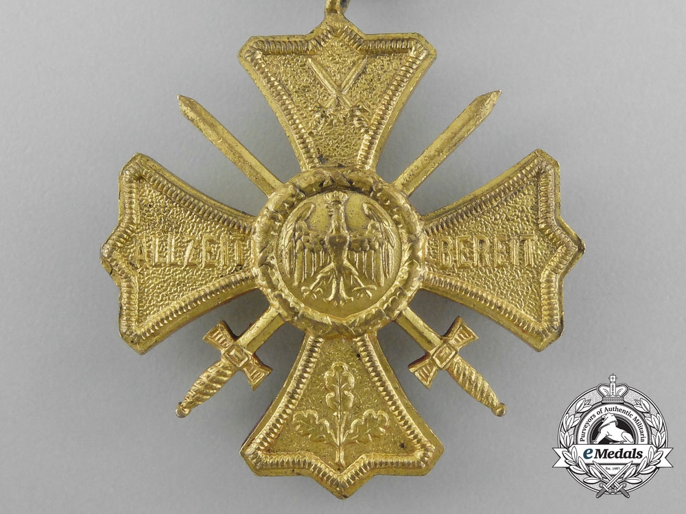 A Regimental Commemorative Cross of the Former German Army