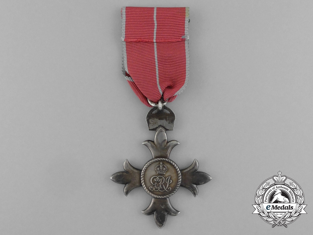 A Member of the Most Excellent Order of the British Empire with Case