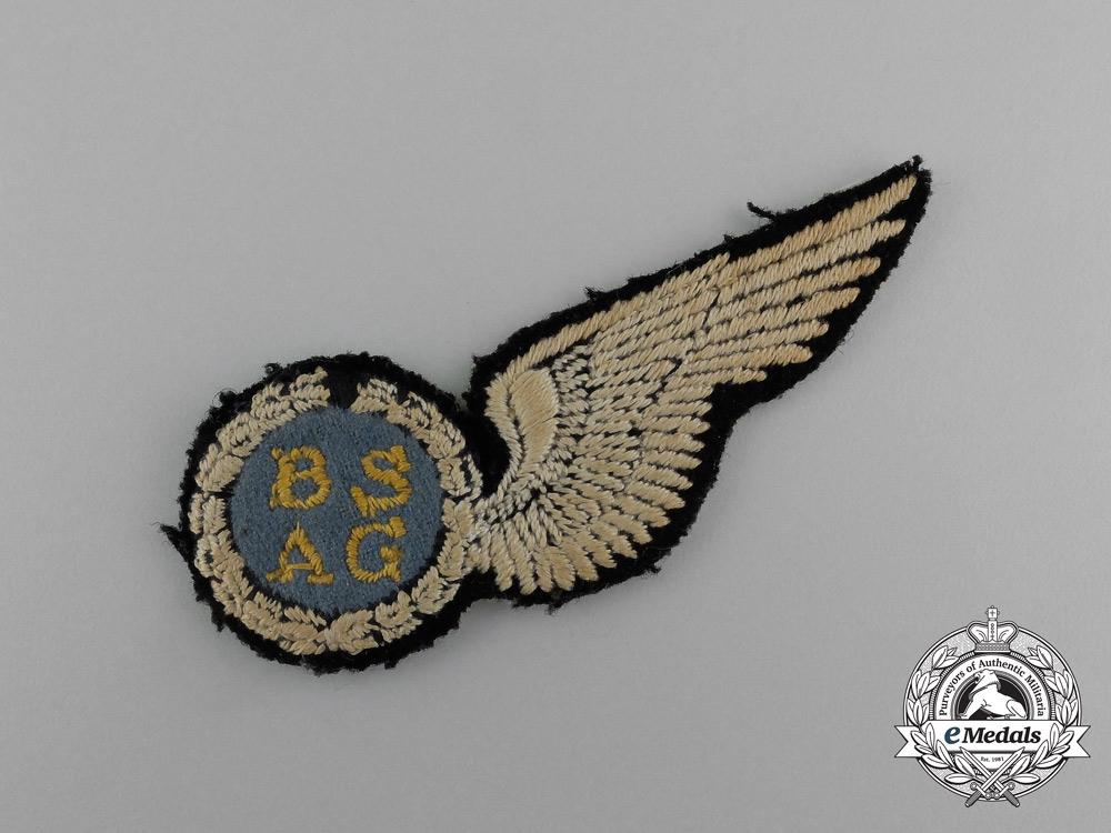 A South African Air Force (SAAF) Air Gunner Wing