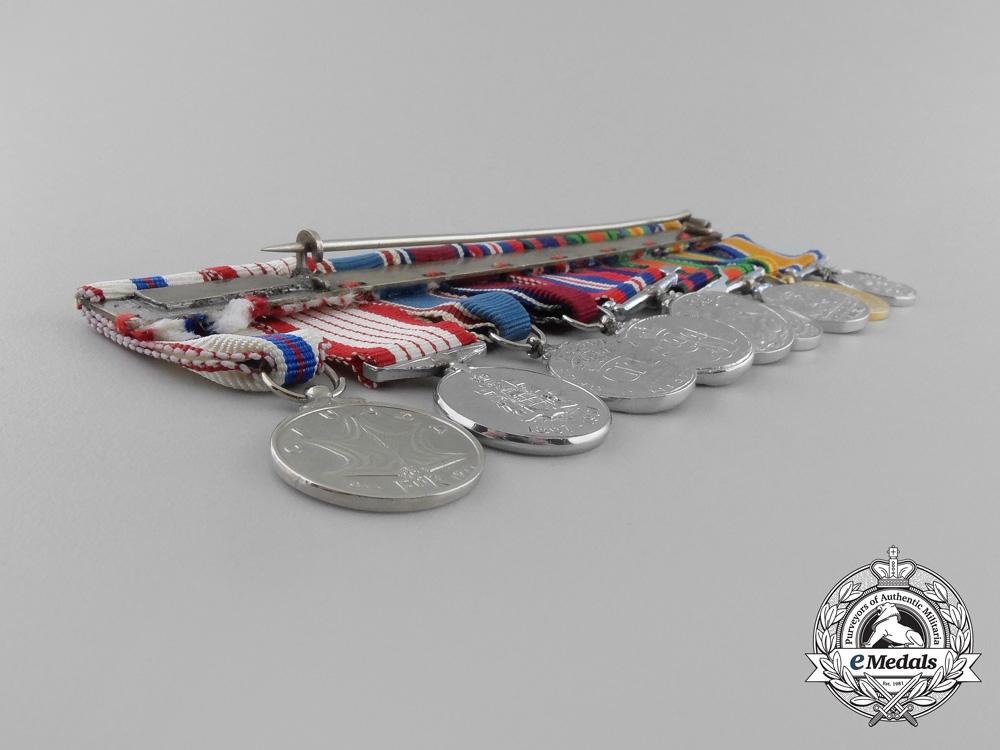 An Extensive Canadian First & Second War Miniature Group