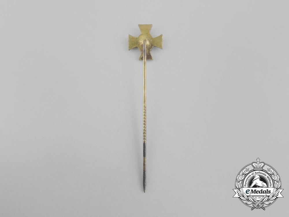 A Third Reich Period German 25-Year Long Service Miniature Stick Pin