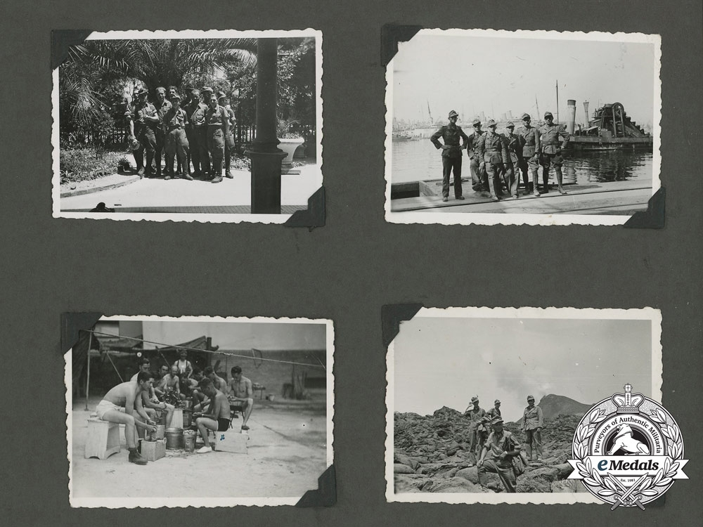 An Early War 3rd Company 21st Infantry Regiment Photo Album