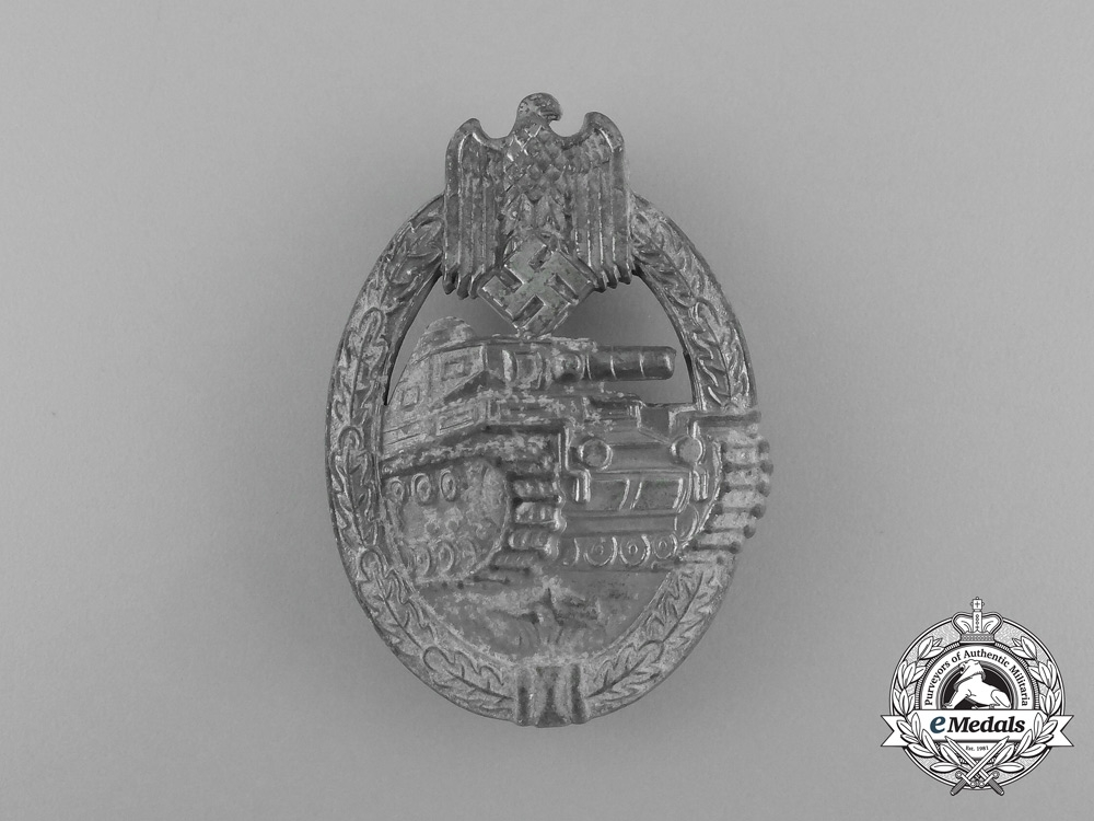 A Second War Silver Grade Tank Badge