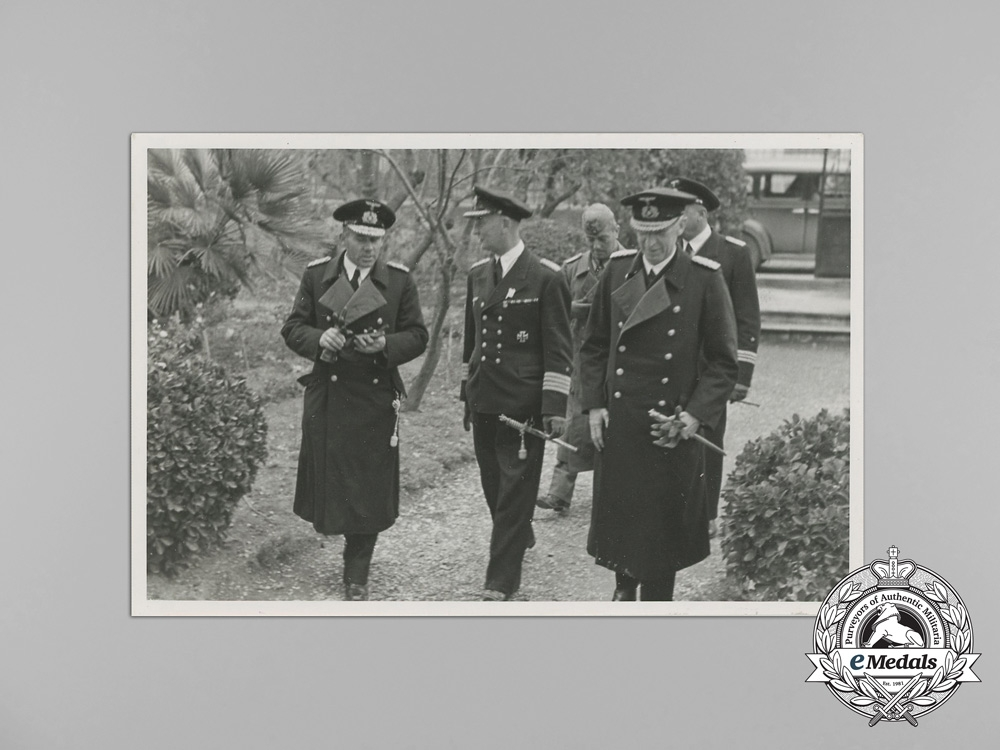 A Private Photo Collection of Admiral Erich Förste; Commander of Naval High Command North