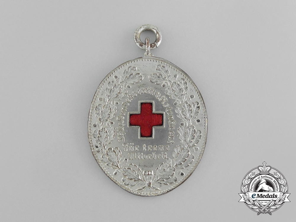 Germany, Imperial. A Thuringen Red Cross Service Medal; I Class