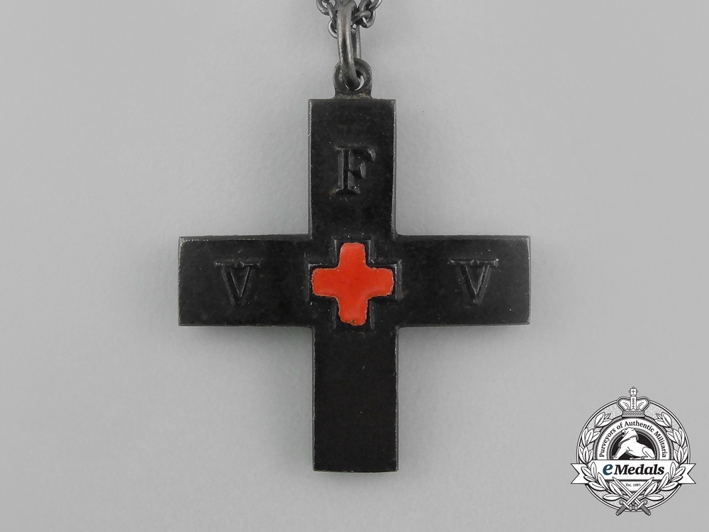 A 1914 German Patriotic Women of the Red Cross (VFW) Memorial Medal