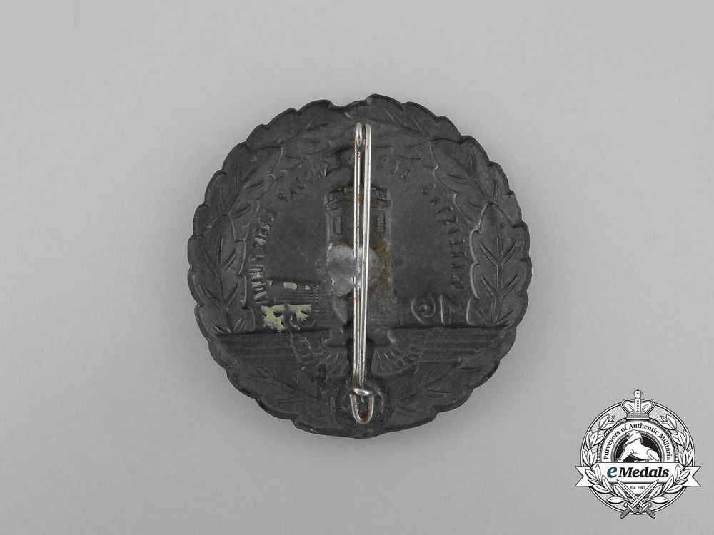 Germany, NSDAP. A 1937 Fuld 4th District Council Day Badge