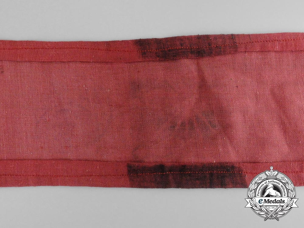 A Spanish Civil War Falange Second Line Militias Armband