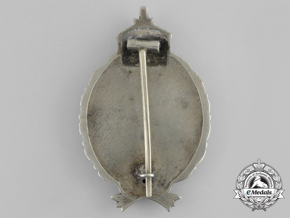 Prussia, State. A Pilot's Badge, Type 5 by C. E Juncker of Berlin