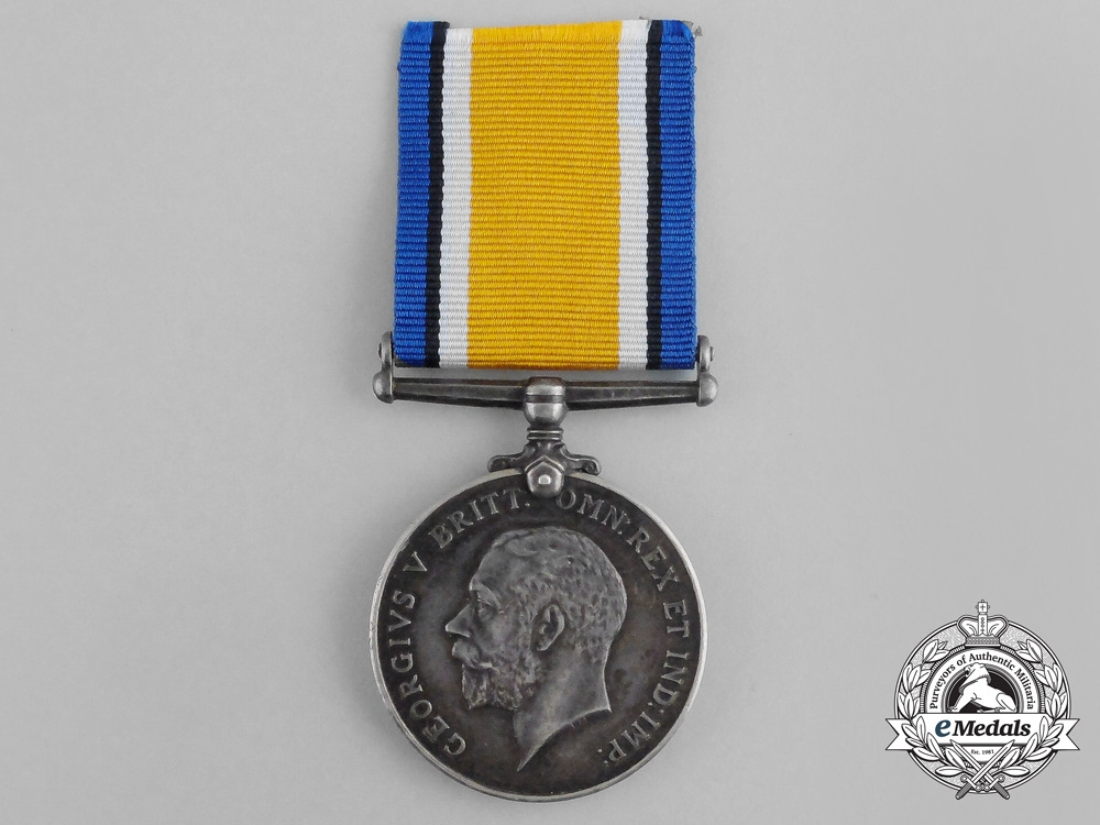 A First War Medal to the 12th South African Infantry