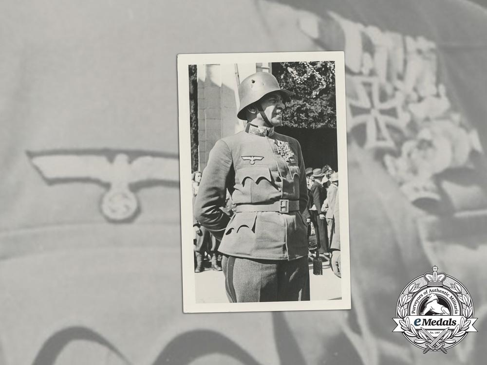 A Period Inter War Photo of Austrian First War Veteran