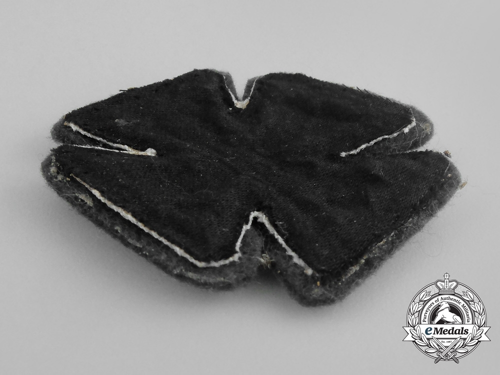 Germany, Imperial. A Cloth Version Iron Cross 1914, I Class